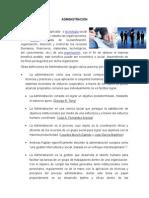 ADMINISTRACIÓN, Ciencias Politicas, Administracion Publica