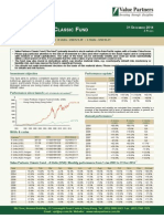 Value Partners Classic Fund Q4 2014 Commentary