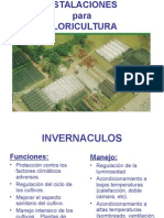 Instalaciones Para Floricultura