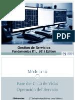 Modulo 10-Operacion Del Servicio