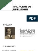 Clasificación de Mendelsohn