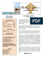 church bulletin template new