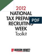 02-004690-12 Natl Tax Preparer Recruiting Kit 2012 v7
