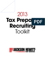 2013 Tax Preparer Recruiting Toolkit - Copy