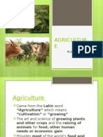 Agriculture (FINAL)
