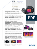 FLIR T620bx T640bx Datasheet