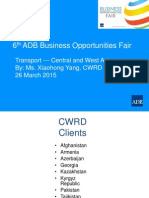 3 Transport ICT-CWRD by XYang 22Mar2015