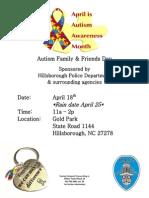 Autism Event Hillsborough NC