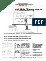 Summer 2015 Social Skills Groups Flyer