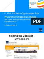 3 Plenary - Procurement of Goods & Works by JTaylor