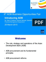 1 Plenary - Introducing ADB by SO'Sullivan 25Mar2015