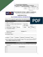 UG Application Form International 2014(1)