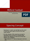 Milford Dropback Passing Game