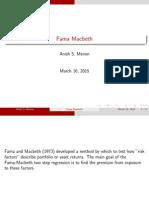 Fama Macbeth