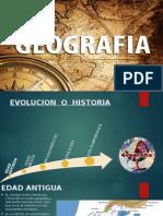 Evolucion de la geografia