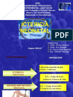 ICTERICIA Expo Neonatologia