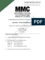 Mkt2063 - Consumer Behavior
