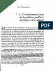 Sabatier Mazmanian Implementacion Marco Analisis
