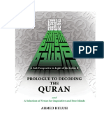 Prologue to Decoding the Quran En