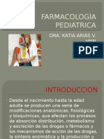 FARMACOLOGÌA PEDIATRICA