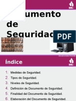 datos personales Curso Documento de Seguridad