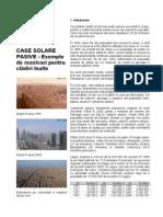 CASE SOLARE PASIVE - Exemple de rezolvari pentru cl¦âdiri +«nalte