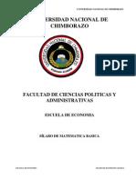 Sílabo Matematica Basica (Semestral Economia 2012 - 2013)