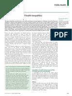 Social Determinants in Health and Inequalities