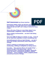 Awareness of Self by El Man Spiritus