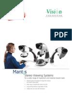 Vision Engineering Mantis Family Brochure v27 English Us