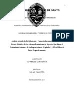 Articulo Sobre Comercion Internacional y Cap I y III