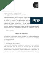 Reforma a la Constitución del estado de Puebla