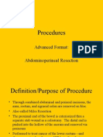 LP 2 Abdominoperineal Resection