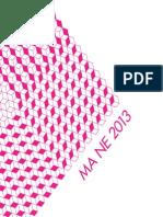 Catalogue2013 MANE