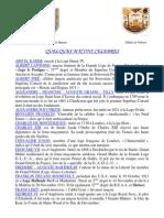 Macons Celebres , Site