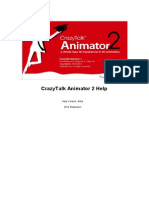 CrazyTalk Animator 2 Pipeline Manual