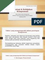 Strategi & Kebijakan Kompensasi