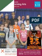 Balinese Performing Arts Teacher Resource Guide