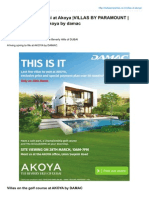 Dubaiproperties.co.in Akoya Villas