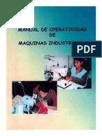 Operatividad de Maquina