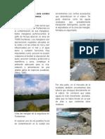 Contaminación en La zona costera de La Ciudad de Puntarenas
