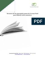 """Guía de Escritura de creaciones para el Premio """"Novela Corta en Lectura Fácil"""" (2015)."""