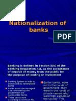 Bank Nationalization
