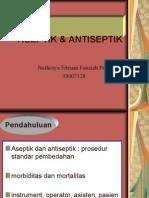Ppt Aseptik Dan Antisepti