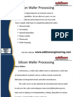 Addistionengineering - Silicon Wafer Processing