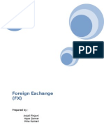 Foreign Exchange Report