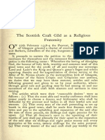 the scottish craft guild as a religious fraternity