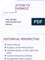 Inttroduction to Cardiothoracic Surgery