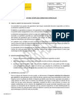 Derechos Especiales Ayuda Acoplada 02-06-2014