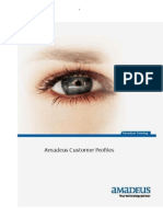 Amadeus Customer Profiles Manual